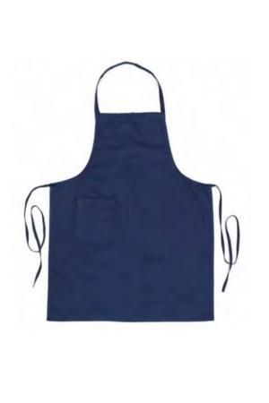 Überschürze KIP mit Tasche - dunkelblau
