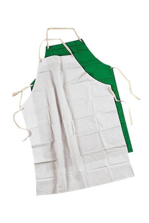 Überschürze PVC PERU - weiß - dunkelgrün
