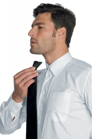 Krawatte CLIP - schwarz