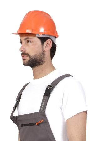Arbeiterhelm ANDI - orange
