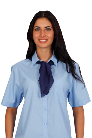 Damenfoulard CREPES - dunkelblau