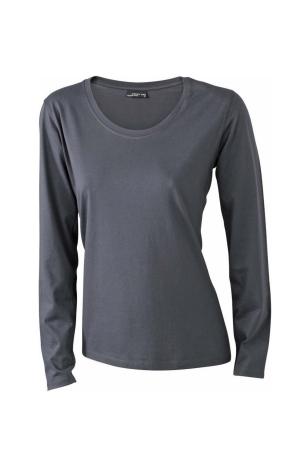 Damen T-Shirt JN 903 - dunkelgrau