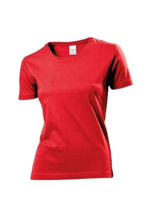 Damen T-Shirt ST 2600 - rot