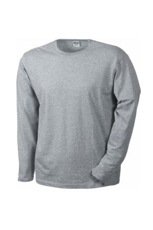 Herren T-Shirt JN 913 - hellgrau melange