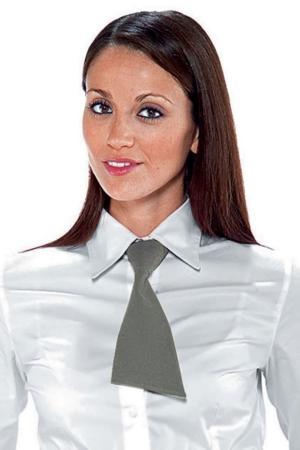 Kleine Krawatte FLORIDA - hellgrau