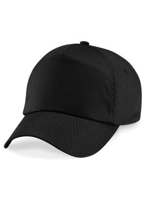 Schildmütze K18040 - schwarz