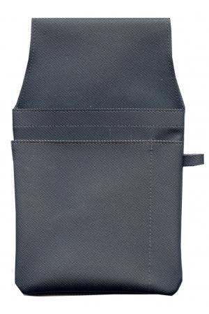 Kassiertasche PVC - schwarz