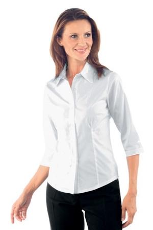 Bluse KYA PI - 3/4 - weiß
