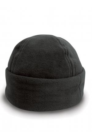 Fleecemütze RESULT - schwarz