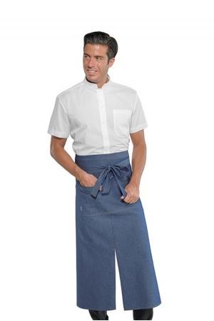 Französische Schürze MIKONOS 100 - jeans