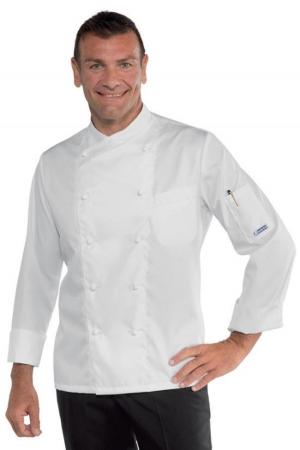 Kochjacke PANAMA SLIM - weiß
