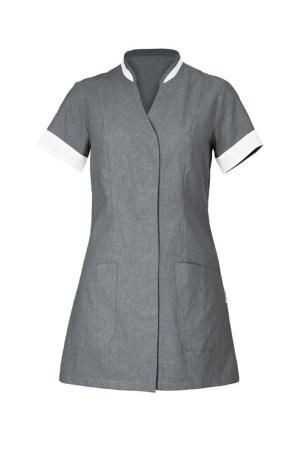 Damenkasak AURELIA 125 - dunkelgrau mit weißem Profil