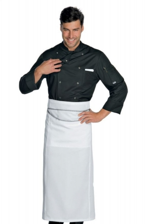 Kochjacke FRANCOFORTE - schwarz