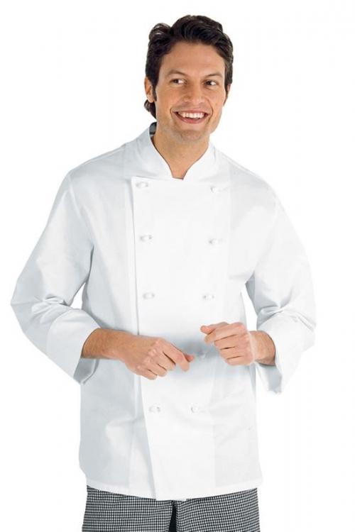 Kochjacke ENRICO - l/Ä - weiß