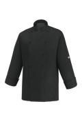 Kochjacke COOL BLACK - schwarz