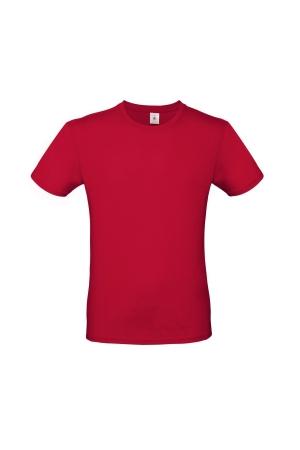 Herren T-Shirt Heavy E150 - rot