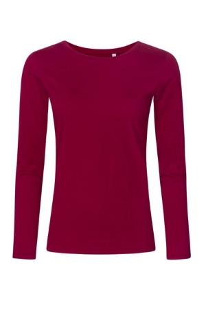 Damen T-Shirt P1565 - berry