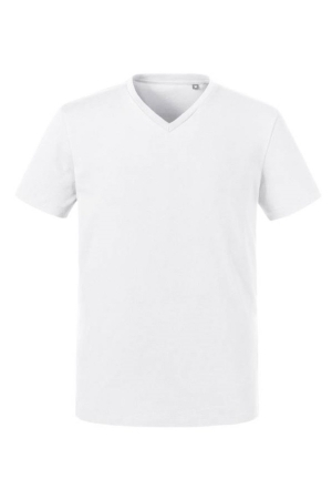 Herren T-Shirt Organic V-Neck 103M - weiß