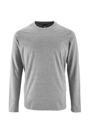 Herren T-Shirt Imperial 2074 - l/Ä - grau melange