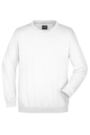 Herren Heavy Sweater JN 40 - weiß