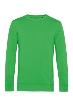 Herren Bio Sweater Organic Crew Neck - apfelgrün