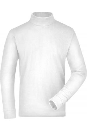 Rollkragen Shirt - weiß