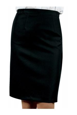 Damenrock LISA STRETCH - schwarz