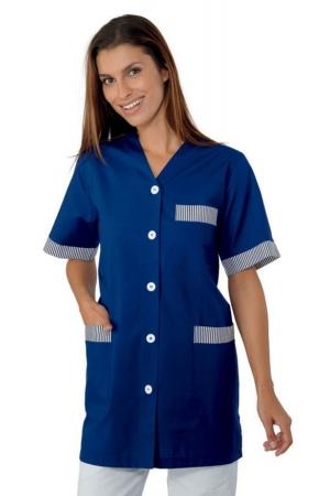 Damenkasak DANA - dunkelblau/dunkelblau-weiß gestreift