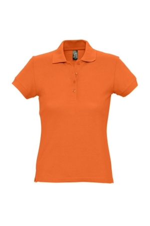 Damenpolo PASSION - orange