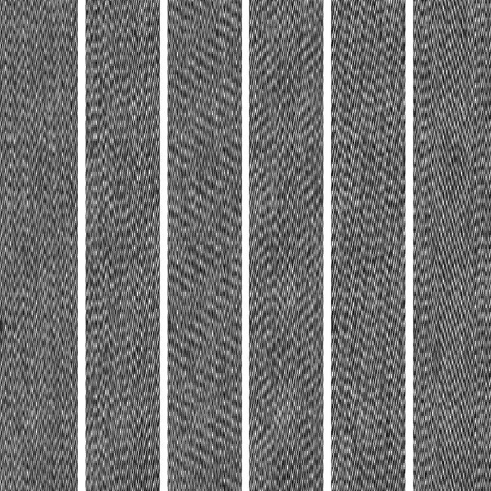 grau melange mit weißen Nadelstreifen